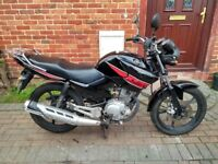 2013 Yamaha YBR 125 motorcycle, new 12 months MOT, learner bike, low miles, runs very well ,,,