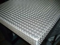 Aluminium seat/counter top and off-cut sheets