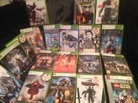 19 Xbox 360 games for sales