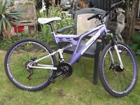 Dunlop Mountain Bike - Dual Suspension - 18 Gears - VGC.