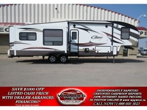 2015 Keystone RV Cougar 333MKS 37FT TRIPPLE SLIDE, LUXURY FINISH