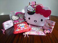 'Hello Kitty' Bag / Sock / Hair Collection