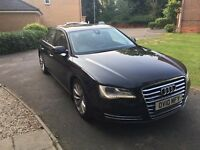 Audi A8 4.2L TDI V8 immaculate condition, high specifications, looking to sell quickly