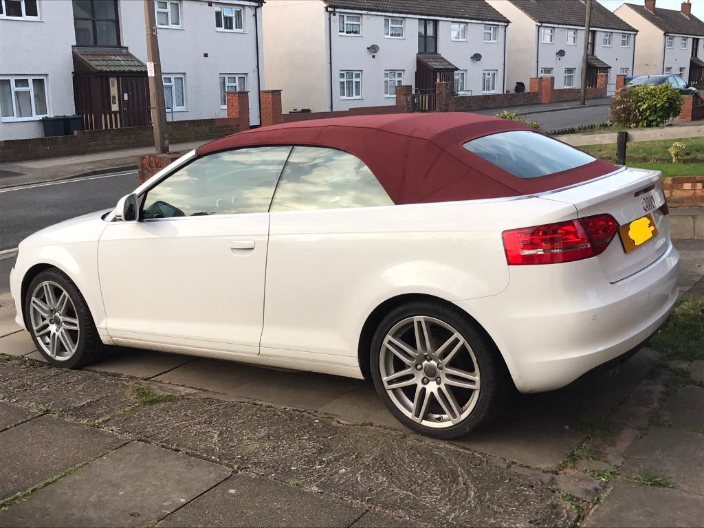 Taking Offers 2010 10 A3 1 6tdi Cabriolet Convertible