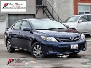2013 Toyota Corolla CE sunroof