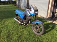 MZ Saxon 125 barn find