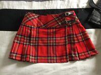 Ladies kilt stle skirt