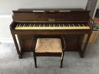 Kemble Minx Piano and Stool