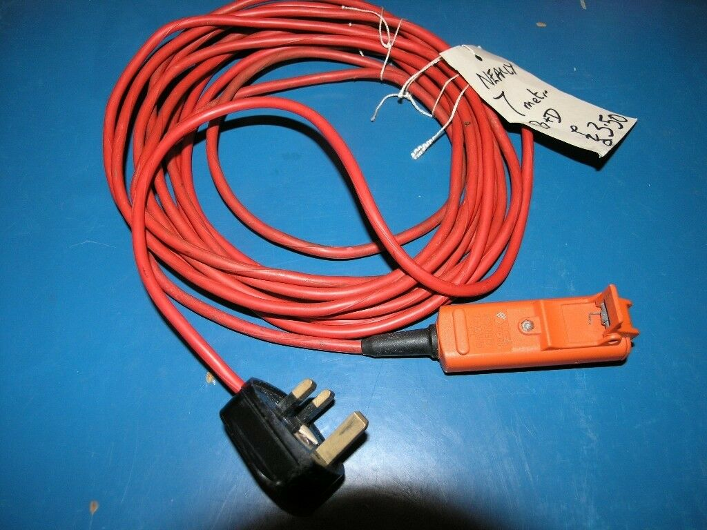 Black And Decker Orange Extension Cable 7 metres