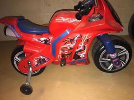 Spider-Man electric bike