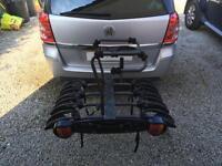 Exodus 4 Bike tow bar carrier with tilt to access boot
