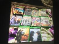 Loads new Xbox one games for sale from £12 each to £35 each ask for prices
