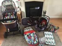 Cosatto pram and travel system