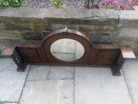 Antique Round Mirror Bargain