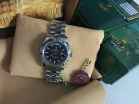 Rolex Day Date Black Dial