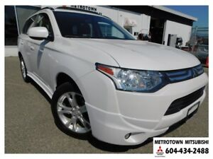 2014 Mitsubishi Outlander ES Premium 4WD; Local & no accidents!