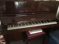 Omega upright piano