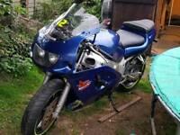 Suzuki gsxr 600 srad / 750 engine in it