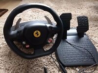 Thrustmaster Ferrari 458 pc/xbox sterring wheel