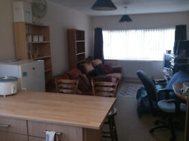 Large 1 bedroom flat, fully furnished 6 months 15th March-15th September £550 per month.