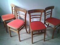 1960's kitchen chairs