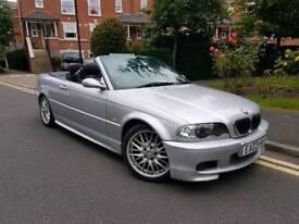2003/03 REG BMW 330CI SPORT AUTO CABRIOLET LEATHERS CHEAP £1995