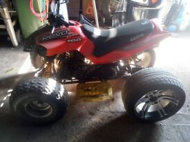 Quad bike 110cc x 2