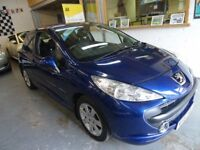 2007 PEUGEOT 207 1.6 AUTOMATIC 3DOOR SPORT, SERVICE HISTORY, LOW MILES, DRIVES LIKE NEW, CLEAN CAR