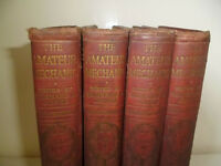 THE AMATEUR MECHANIC 4 VOLUME SET OF BOOKS,CIRCA 1910 - 1920
