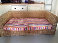 Habitat/Conran Wicker Sofa