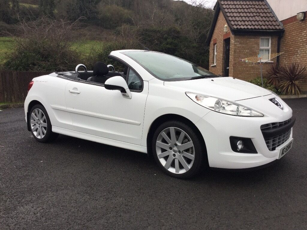 peugeot 207 1 6 hdi cc gt diesel convertible not mini in dunmurry belfast gumtree. Black Bedroom Furniture Sets. Home Design Ideas