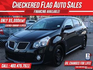 2009 Pontiac Vibe GT W/ SUNROOF-HEATED LEATHER-5 SPEED