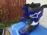 Alpinestars super tech boots