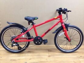 Frog 55 In Red lightweight Child's Bike (various colours available)