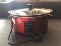 Morphy Richards 48702 Accents Sear and Stew Slow Cooker - Red in excellent condition