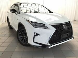 2016 Lexus RX 350 F Sport Series 3: Trailer Hitch, Cargo Mat.