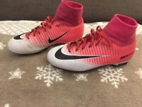 Football Nike mercurial sock boots size 2