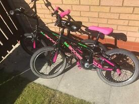 """SOLD. 2 X 18"""" apollo bikes £30 each"""