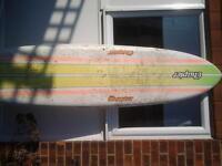 Surfing, longboard