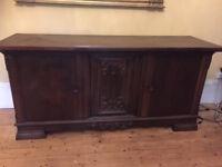 Large antique sideboard