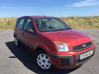 2008 FORD FUSION 1.4 TURBO DIESEL 1 FORMER KEEPER FULL SERVICE HISTORY LONG MOT NO ADVISORIES!