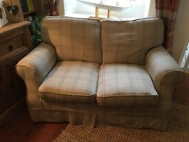 Laura Ashley small 2 seater padstow sofa