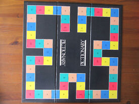 Vintage Adult Pictionary Board Game - Parkers – Complete & with instructions! – Very Good Condition