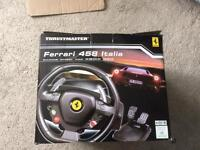 Thrustmaster Xbox 360 and PC steering wheel