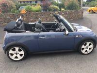 Mini Cooper S convertable for sale