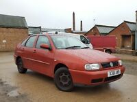 2000 Volkswagen Polo 1.4 S 4 Door Saloon Low 44K FSH Cheap Family Car Golf Bora Fabia Octavia Passat