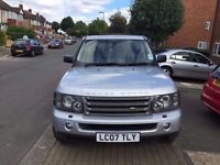 Land Rover Range Rover Sport 2007 HSE-1 Owner From New - Low Mileage - Long MOT-Full Service History