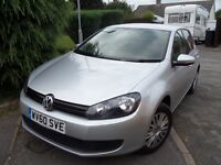 2010 VW Golf 1.2 TSi 5 dr Petrol New MOT, Full Service History, Genuine Mileage Very Economical.