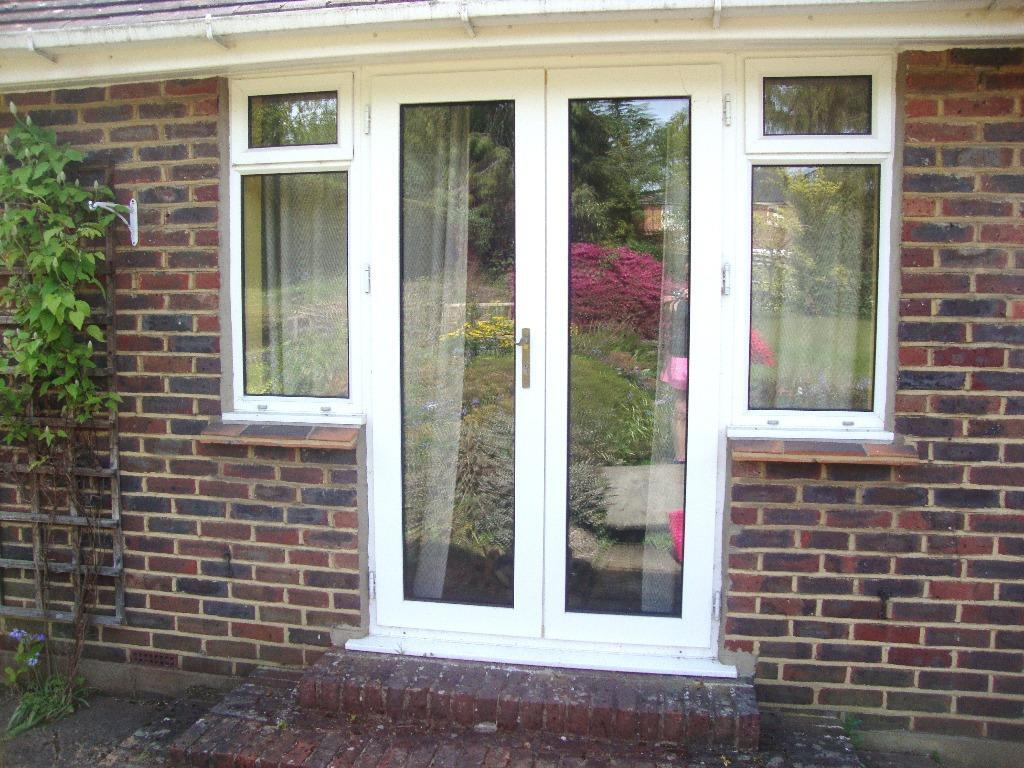 French doors and side windows in buy sale and trade ads for Used upvc patio doors