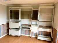 Wall cabinet and glass display unit - FREE